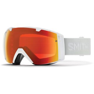 Smith I/O inkl. WS, white vapor/Lens: cp everyday red mir - Skibrille