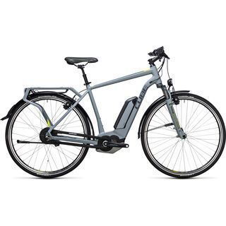 Cube Delhi Hybrid 500 2017, grey´n´lime - E-Bike