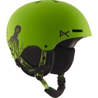 Anon Rime, krakken green - Snowboardhelm