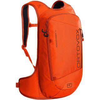 Ortovox Powder Rider 16 burning orange