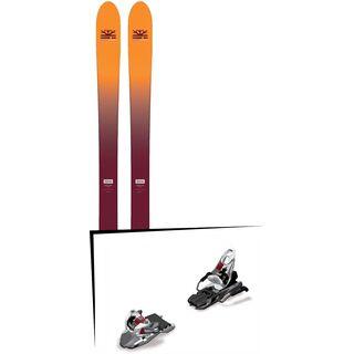 Set: DPS Skis Wailer F99 Foundation 2018 + Marker Free Ten