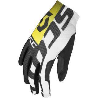 Scott RC LF Glove, black/rc yellow - Fahrradhandschuhe