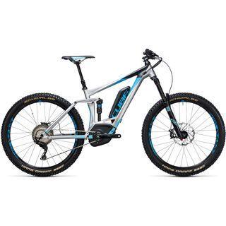 *** 2. Wahl *** Cube Stereo Hybrid 160 HPA Race 500 27.5 2017, metal´n´blue - E-Bike | Größe 20 Zoll