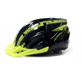 Alpina MTB 14, black-lime - Fahrradhelm