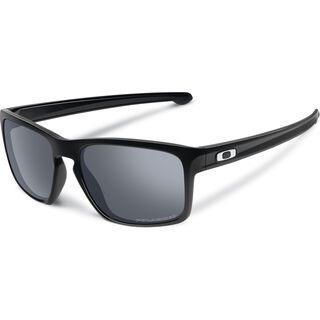 Oakley Sliver, polished black/black iridium polarized - Sonnenbrille