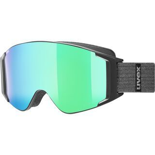 uvex g.gl 3000 TO + WS, black mat/Lens: mirror green - Skibrille