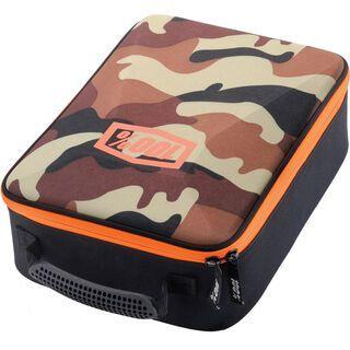 100% Goggle Case, camo brown/white - Brillenetui