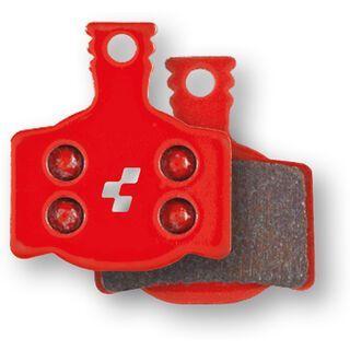 Cube Scheibenbremsbelag Magura MT-2-4-6-8 - gesintert red