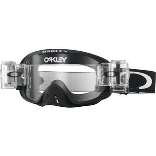 Oakley O2 MX, matte black/Lens: clear - MX Brille