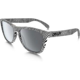 Oakley Frogskins Fingerprint, polished white/Lens: black iridium - Sonnenbrille