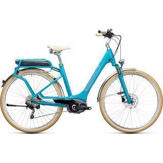 Cube Elly Ride Hybrid 400 2017, blue´n´aqua - E-Bike
