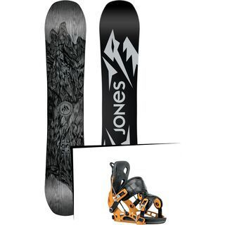 Set: Jones Ultra Mountain Twin 2019 + Flow NX2 (1908424S)