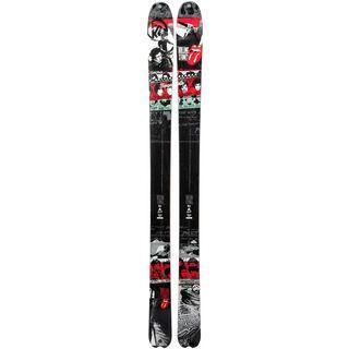 K2 Sidestash Rolling Stones Limited 2013, black/white - Ski