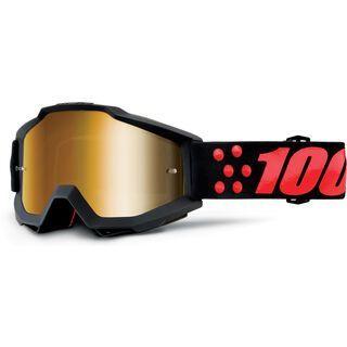 100% Accuri inkl. Wechselscheibe, gernica/Lens: mirror true gold - MX Brille