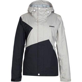 Zimtstern Zarla Snow Jacket, light grey twotone - Snowboardjacke