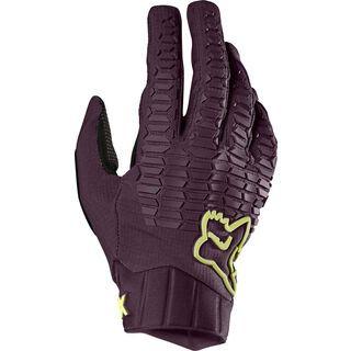Fox Womens Defend Glove, dark purple - Fahrradhandschuhe