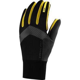 Mavic Cosmic Pro Wind Glove, black / yellow - Fahrradhandschuhe