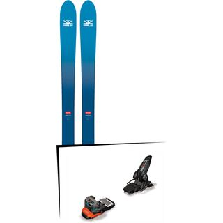 Set: DPS Skis Wailer F106 Foundation 2018 + Marker Lord S.P.14