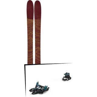 Set: Line Mordecai 2019 + Marker Alpinist 9 black/turquoise