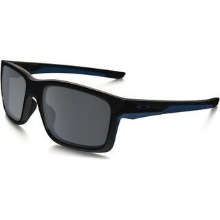 Oakley Mainlink, polished black/navy/Lens: black iridium - Sonnenbrille
