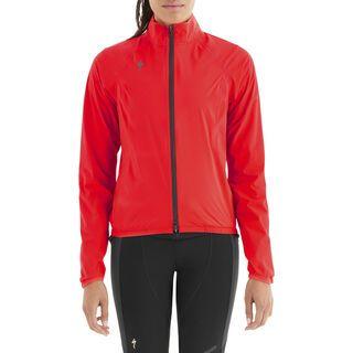 Specialized Women's Deflect H2O Pac Jacket, rocket red - Radjacke