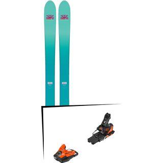 Set: DPS Skis Nina F99 Foundation 2018 + Salomon STH2 WTR 13 orange/black