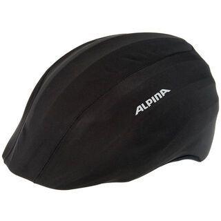 Alpina Mulii-Fit-Raincover, black - Helmüberzug