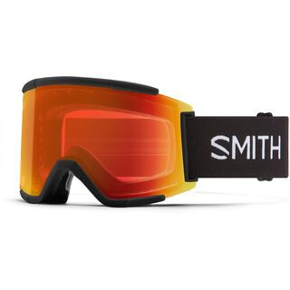 Smith Squad XL inkl. WS, black/Lens: cp everyday red mir - Skibrille