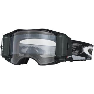 Oakley Airbrake MX Roll-Off, jet black speed/Lens: clear - MX Brille