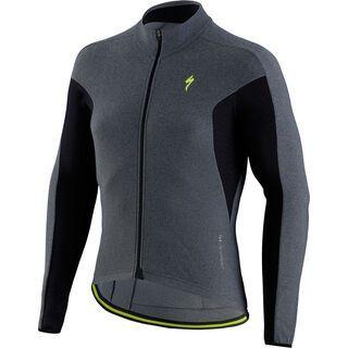Specialized Therminal SL Expert Jersey LS, grey heather - Radtrikot