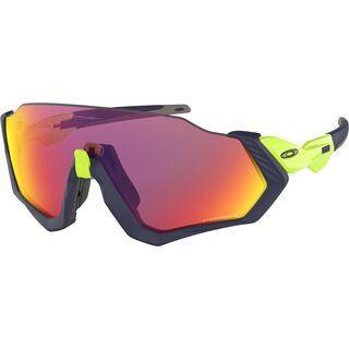 Oakley Flight Jacket Prizm, matte navy/Lens: prizm road - Sportbrille