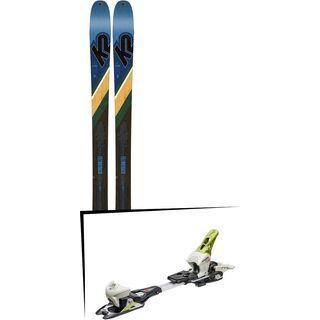 Set: K2 SKI Wayback 84 2019 + Fritschi Diamir Eagle 12 lemongrass
