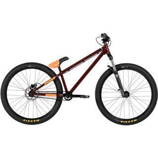 Norco One25 2017, burgundy/orange - Dirtbike