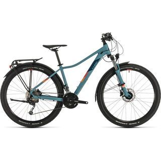 Cube Access WS Pro Allroad 27.5 2020, greyblue´n´apricot - Mountainbike