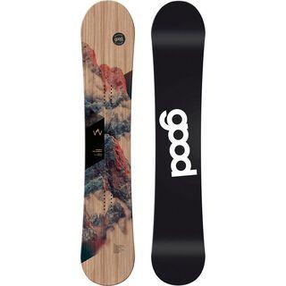 goodboards Wooden Camber Mid-Wide 2020, esche - Snowboard