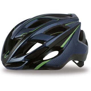 Specialized Chamonix, navy/green - Fahrradhelm