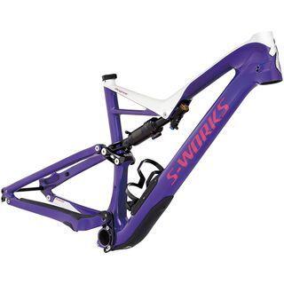 Specialized S-Works Stumpjumper FSR Carbon 29/6Fattie Frame 2017, purple/white/pink - Fahrradrahmen