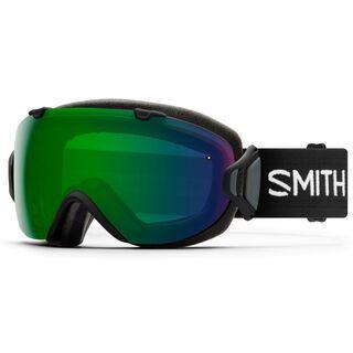 Smith I/OS inkl. Wechselscheibe, black/Lens: everyday green mirror chromapop - Skibrille