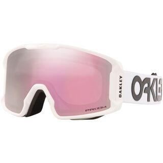 Oakley Line Miner XM Prizm Factory Pilot, white/Lens: hi pink iridium - Skibrille