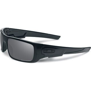 Oakley Crankshaft, matte black/black iridium polarized - Sonnenbrille