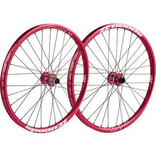 Spank Spoon 32 Wheelset 27.5, red - Laufradsatz