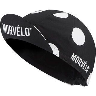 Morvelo Pongo Cycling Cap, black/white - Radmütze