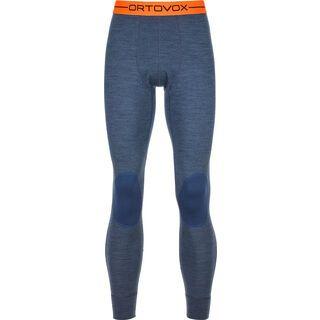 Ortovox 185 Merino Rock'n'Wool Long Pants M, night blue blend - Unterhose