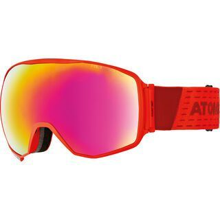 Atomic Count 360° HD RS + WS, red/Lens: red hd - Skibrille