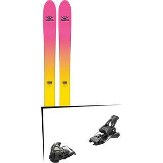Set: DPS Skis Yvette 112 RP2 Foundation 2018 + Tyrolia Attack 14 AT solid black