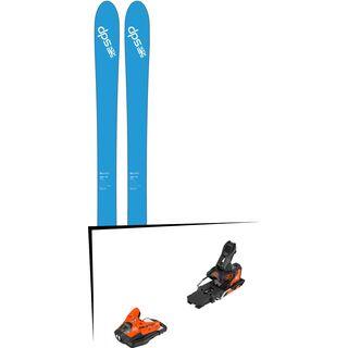 Set: DPS Skis Wailer 106 2017 + Salomon STH2 WTR 13 (2212357)