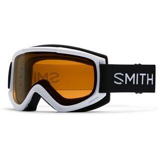 Smith Cascade Classic, white/gold sol-x mirror - Skibrille