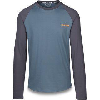 Dakine Dropout L/S Jersey, slate blue - Radtrikot