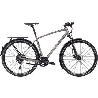 Specialized Crosstrail Elite EQ - Black Top Collection 2019, brushed - Fitnessbike