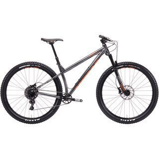 Kona Honzo ST 30th 2019, silver w/ orange - Mountainbike